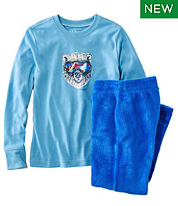Kids' L.L.Bean Cozy Fleece Pajamas